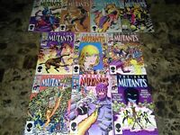 New Mutants 40 41 42 43 44 45 46 47 48 49 NM/M to NM 9.8 to 9.4 Copper Age X-Men