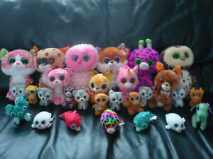 TY SOFT TOYS VARIOUS COLLECTION BUNDLE ~ APPROXIMATLY 28 MOST STILL WITH TAGS...
