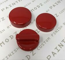 Ford Focus MK3 RS Ecoboost, ST Petrol MK3 Engine Cap Cover Kit Gloss Red Plastic