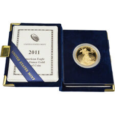 2011-W American Gold Eagle Proof 1 oz $50 in OGP