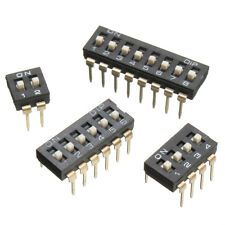 5PCS 2/4/6/8 Way DIP DIL ON/OFF Switch PCB Mounted For Arduino And PICAXE