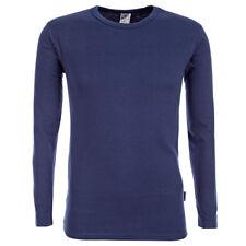 CARLO COLUCCI hombre Duo Therm Térmico Camisa Ski Ropa interior camiseta