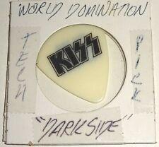 KISS Band World Domination Concert Tour TECH Darkside Guitar Pick 2003