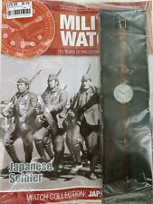 EAGLEMOSS MILITARY WATCHES ISSUE 22. 1940's JAPANESE SOLDIERS. UNOPENED / MINT