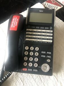 NEC DLV(XD)Z-Y(BK) Desk VoIP Phone DTL-24D-1 BK TEL Formally From Pier 1 Imports