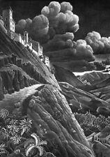 Escher # 12 cm 35x50 Poster Stampa Grafica Printing Digital Fine Art papiarte