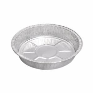 "50 x ROUND Aluminium Foil Dishes 6"" Steak Pie Quinche Disposable Baking Trays"