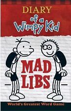 Mad Libs: Diary of a Wimpy Kid Mad Libs by Price Stern Sloan (2015, Paperback)