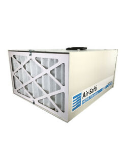 Air Safti Air Scrubber | HEPA Filtration for Homes | Quiet, Remote Controlled