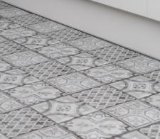Floor Tiles Self Adhesive Moroccan Style Vinyl Flooring Bathroom Kitchen 1m² D-C
