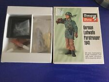 Vintage Monogram 1/32 Luftwaffe Paratrooper Figure Model Kit (Sealed) 1968