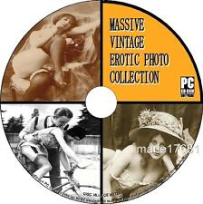 20000+ VINTAGE EROTIC ART PHOTO COLLECTION PCCD SEMI NUDE RISQUE TITILLATING NEW