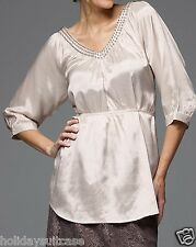 NEW LADIES WOMANS SEXY SHIMMER SATIN CHAMPAGNE PARTY EVENING TOP SIZE 14-20 UK