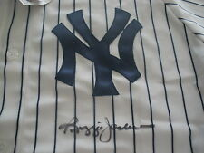 Reggie Jackson Jersey Signed Autographed New York Yankees PSA Authenticated