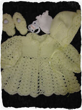 Baby Tunisian Crochet Pattern #3 by Julie Ware