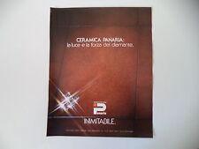advertising Pubblicità 1981 CERAMICA PANARIA