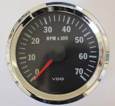 VDO CHROME compte-tours 80mm 7000u/min