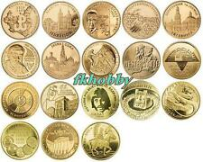 Poland 2009 coins 2zl x18 complete year