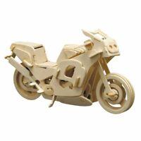 PEBARO Holzbausatz Renn-Motorrad