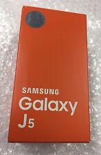 NEW Samsung Galaxy J5 Duos J500F Dual SIM Card 4G Gold Unlocked Smartphone NEW