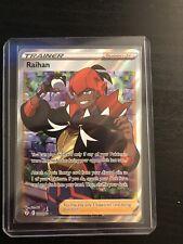 New listing Pokemon - Raihan - 202/203 - Full Art - Evolving Skies - Pack Fresh