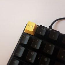 Yellow Smile Keycap Cherry MX PBT Translucent Backlit Mechanical Keyboard