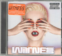 Katy Perry - Witness [PA] Explicit CD 2017 Swish Brand New & Sealed