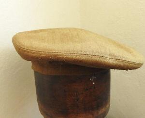WW1/2 Military Tam O'Shanter Bonnet Khaki Beret Scottish Cap/Hat (4877)