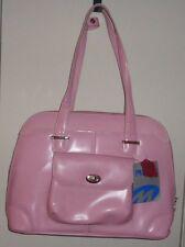 NWT Ladies McKlein USA Avon Leather Laptop Briefcase Pink Business Handbag Bag
