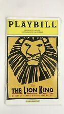 THE LION KING PANTAGES THEATRE Los Angeles