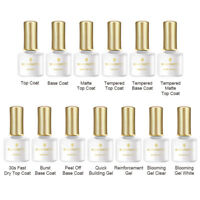 6ml BORN PRETTY Nail Top Coat Base Coat Matte Blossom Gel Quick Building UV Gel