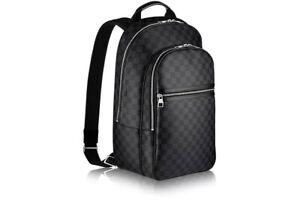 louis vuitton backpack michael nm damier graphite black