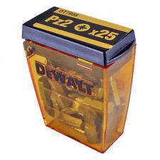 25 DeWALT DT7908 Tic Tac Pz2 Screwdriver Bits 25mm