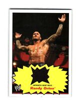 WWE Randy Orton 2012 Topps Heritage Authentic Event Worn Shirt Relic Card Black