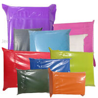 Coloured Poly Plastic Mailing Postal Packaging Bags Strong Self Seal Strip Cheap
