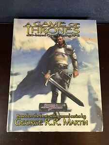 George R.R. Martin A GAME OF THRONES d20-based Open Gaming RPG Role Playing Game