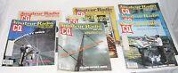 Amateur Radio CQ Vintage HAM Magazine Journal Lot of 8 Issues (Jan - Aug 1982)