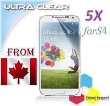 5X Protecteur Ecran ULTRA clair Samsung Galaxy S4 S 4 Clear Screen Protector