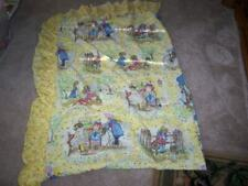 Vintage Holly Hobbie Twin Size Bed Spread