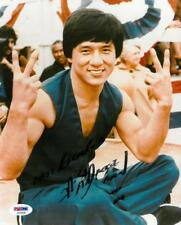 Jackie Chan autographed 8x10 photo RP
