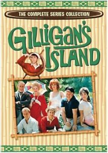 Gilligan's Island The Complete Series Season 1, 2 & 3 DVD Box Set R4 New Sealed