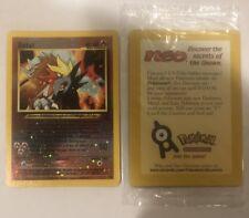 Pokemon Entei SEALED Movie Promo #34 Rev. Holo Card Mint WOTC ULTRA RARE!!