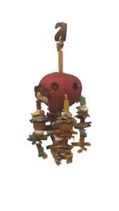 Bird Toy Abaca Natural Parrot shell cuttlebone bamboo coconut nest Sweetheart