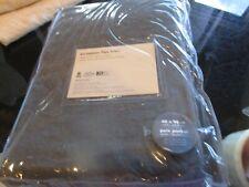 New Listing2 West Elm Belgian Linen drapes panels curtains 48 96 graphite New