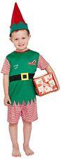 Toddler Boys Santas Helper Elf Christmas Xmas Fancy Dress Costume Outfit 3 years