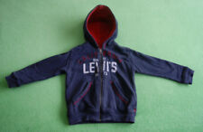 Levis Strauss navy blue red hoodie for boy age 2-3 years