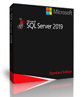 Microsoft SQL Server 2019 Standard with 4 Core License, unlimited User CALs
