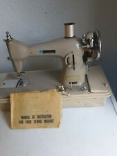 New Home Electric sewing machine with instructions. Working order when last used