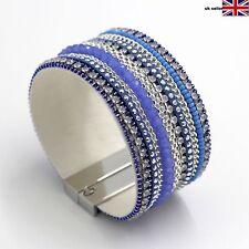 Modeschmuck-Armbänder aus Leder und Kupfer