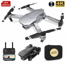 New Drone With Wide Angle HD 4K 1080P Camera WIFI FPV  Height Hold Foldable Gift